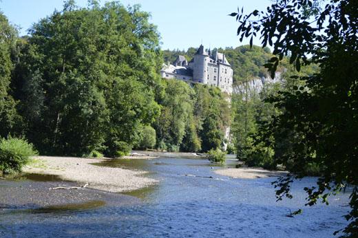 Le château de Walzin